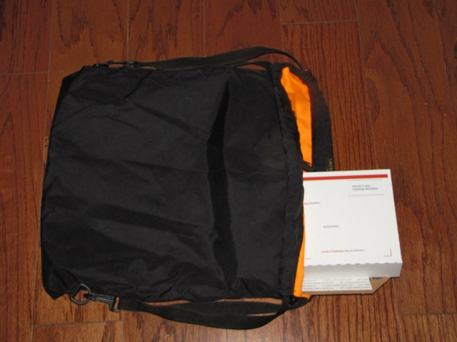 TCBag with USPS box inside